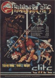 Advert for Thundercats on the Commodore 64.