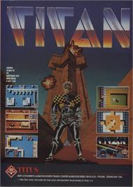 Advert for Titan on the Amstrad CPC.