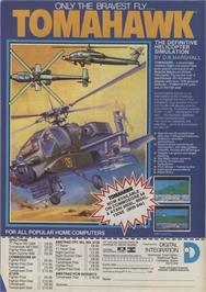 Advert for Tomahawk on the Commodore 64.