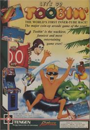 Advert for Toobin' on the Commodore 64.