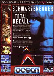 Advert for Total Recall on the Commodore 64.