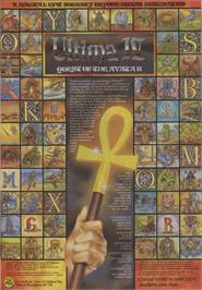 Advert for Ultima IV: Quest of the Avatar on the Commodore 64.