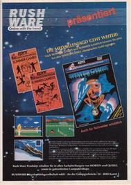 Advert for Winter Games on the Commodore Amiga.