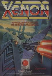 Advert for Xenon on the Commodore 64.