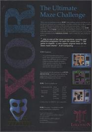 Advert for Xor on the Atari ST.