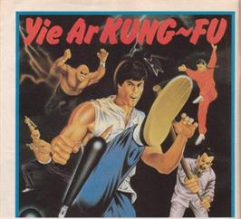 Advert for Yie Ar Kung-Fu on the MSX 2.