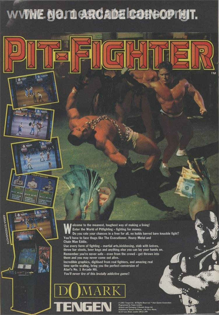 request use the form below to delete this pit fighter atari lynx