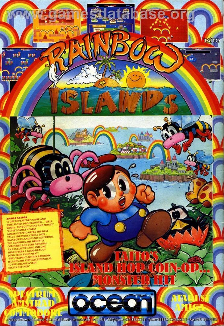 Rainbow Islands - Commodore 64