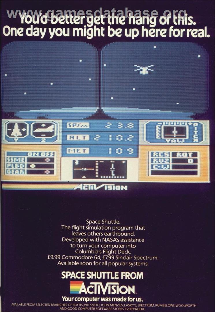 space shuttle atari 2600 - photo #15