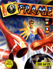 Box cover for 10th Frame on the Commodore 64.