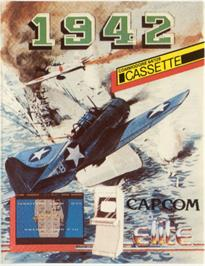 Box cover for 1942 on the Commodore 64.
