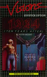 Box cover for 1994: Ten Years After on the Commodore 64.