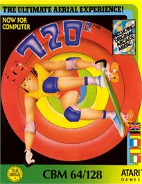 Box cover for 720 Degrees on the Commodore 64.