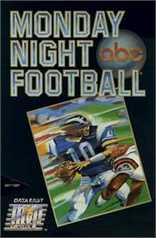Box cover for ABC Monday Night Football on the Commodore 64.