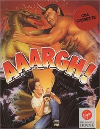 Box cover for Aaargh! on the Commodore 64.