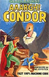 Box cover for Aaargh! Condor on the Commodore 64.