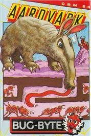 Box cover for Aardvark on the Commodore 64.