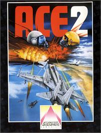 Box cover for Ace 2: The Ultimate Head to Head Conflict on the Commodore 64.