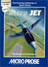 Box cover for Acrojet on the Commodore 64.