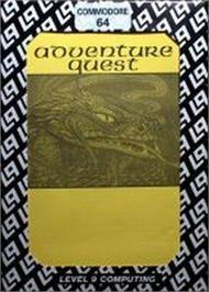 Box cover for Adventure Quest on the Commodore 64.
