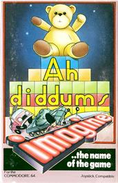 Box cover for Ah Diddums on the Commodore 64.