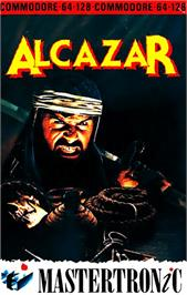 Box cover for Alcazar: The Forgotten Fortress on the Commodore 64.