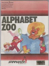 Box cover for Alphabet Zoo on the Commodore 64.