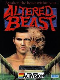 Box cover for Altered Beast on the Commodore 64.