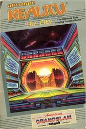 Box cover for Alternate Reality: The City on the Commodore 64.