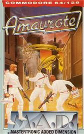 Box cover for Amaurote on the Commodore 64.