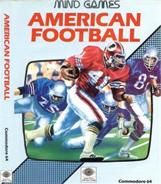 Box cover for American Football on the Commodore 64.