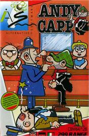 Box cover for Andy Capp: The Game on the Commodore 64.