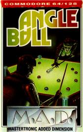Box cover for Angleball on the Commodore 64.