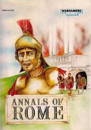 Box cover for Annals of Rome on the Commodore 64.