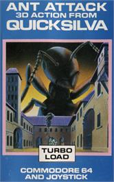 Box cover for Ant Attack on the Commodore 64.