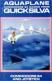 Box cover for Aquaplane on the Commodore 64.