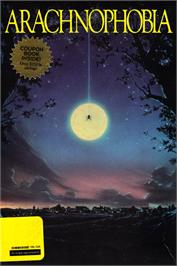 Box cover for Arachnophobia on the Commodore 64.