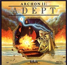 Box cover for Archon II: Adept on the Commodore 64.