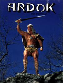 Box cover for Ardok the Barbarian on the Commodore 64.