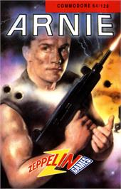 Box cover for Arnie on the Commodore 64.