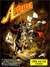 Box cover for Artura on the Commodore 64.