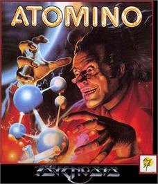 Box cover for Atomino on the Commodore 64.