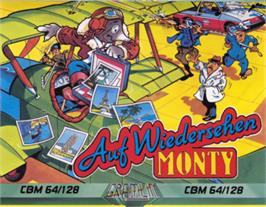 Box cover for Auf Wiedersehen Monty on the Commodore 64.