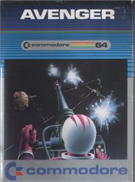 Box cover for Avenger on the Commodore 64.