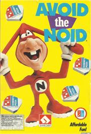 Box cover for Avoid the Noid on the Commodore 64.