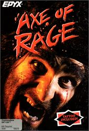 Box cover for Axe of Rage on the Commodore 64.