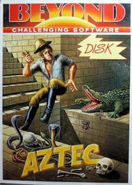 Box cover for Aztec on the Commodore 64.