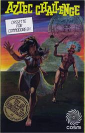 Box cover for Aztec Challenge on the Commodore 64.