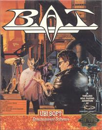 Box cover for B.A.T. on the Commodore 64.