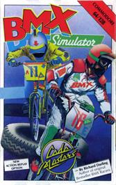 Box cover for BMX Simulator on the Commodore 64.